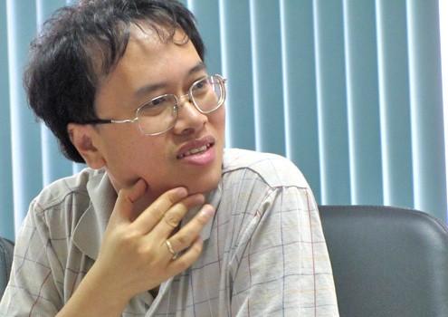 GS Đàm Thanh Sơn tin tưởng Viện nghiên cứu cao cấp về Toán sẽ như con tàu phá băng trong nghiên cứu khoa học ở nước ta.