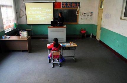 Lớp học có 1 học sinh duy nhất