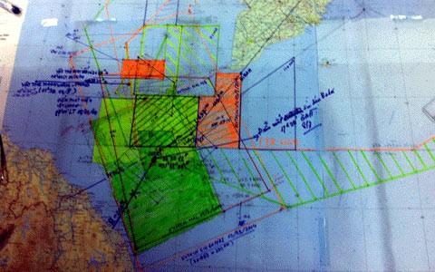 Tìm kiếm chiếc máy bay xấu số của Malaysia bằng cả trái tim