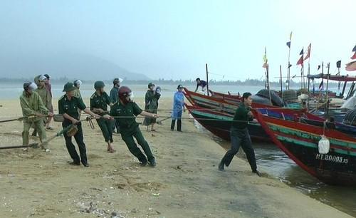 Các biện pháp khẩn cấp đối phó bão Kalmaegi giật cấp 16