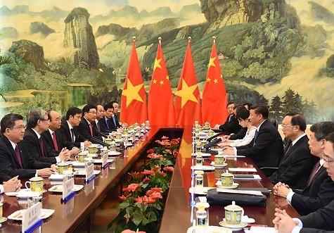 """Biển đông hữu tình: """"Việt Nam hết sức coi trọng quan hệ hữu nghị với Trung Quốc"""""""