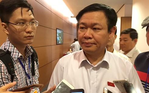 Phó Thủ tướng Vương Đình Huệ: 'Dứt khoát không nới trần nợ công'
