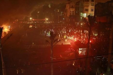 Hưng Yên: Chợ Phố Hiến đổ sụp hoàn toàn sau đám cháy