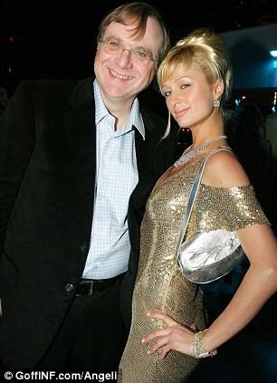 Allen và Paris Hilton
