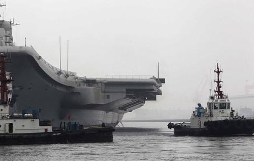 Trung Quốc bắt giữ gián điệp căn cứ tàu sân bay