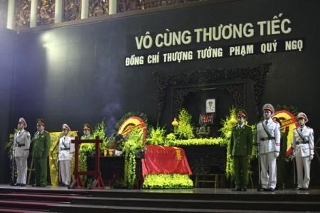 Lời cảm ơn của Bộ CA và gia đình tướng Phạm Quý Ngọ