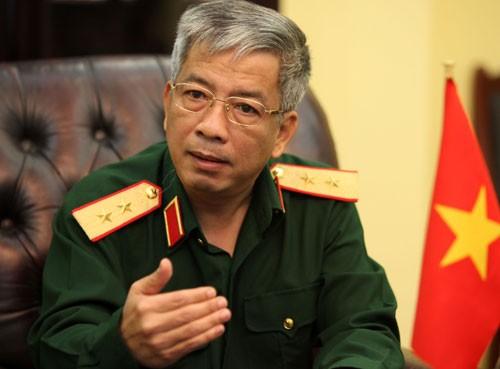 Trung tướng Nguyễn Chí Vịnh - Ảnh: Tuổi trẻ