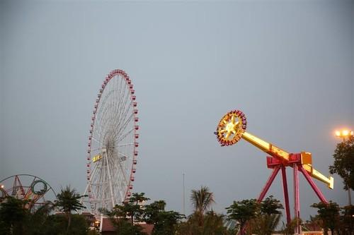 Singapore Sling, top 10 trò chơi cảm giác mạnh nhất thế giới đã đến Asia Park