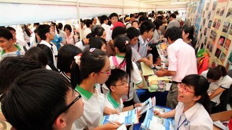 Danh sách các trường đã công bố thông tin tuyển sinh (Ảnh: giaoduc.net.vn)