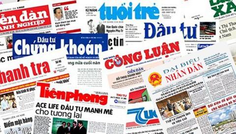 Image result for Báo chí VN