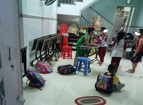 Cô giáo trường Lê Anh Xuân vừa vi phạm dạy thêm, vừa thiếu trung thực