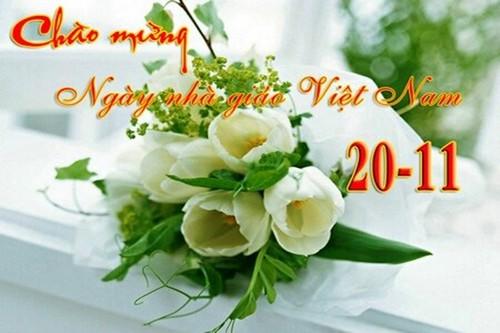 Chúc các thầy cô luôn mạnh khỏe, hạnh phúc và công tác tốt. (Ảnh: VTC)