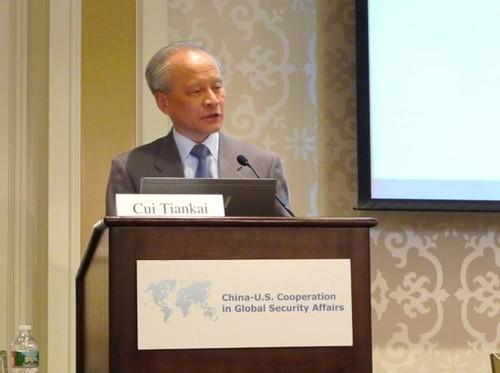 Đại sứ Trung Quốc ở Mỹ thừa nhận xây căn cứ quân sự tại quần đảo Trường sa