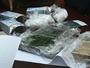 Thu giữ 6 bánh heroin và 0,5 kg ma túy